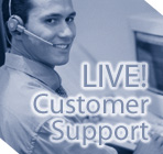 Web hosting services - Live! Customer Support